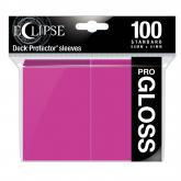 Eclipse Gloss Standard Sleeves: Hot Pink