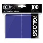 Eclipse Gloss Standard Sleeves: Royal Purple