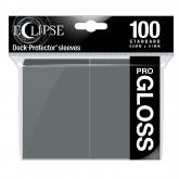 Eclipse Gloss Standard Sleeves: Smoke Grey