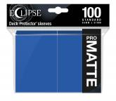 Eclipse Matte Standard Sleeves: Pacific Blue