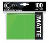 Eclipse Matte Standard Sleeves: Lime Green