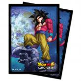 Dragon Ball Super SS4 Son Goku Standard Size Deck Protector 100ct