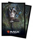 Throne of Eldraine Oko, Thief of Crowns Standard Deck Protector sleeves 100ct for Magic: The Gathering