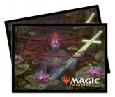 Throne of Eldraine Emry, Lurker of the Loch Standard Deck Protector sleeves 100ct for Magic: The Gathering
