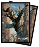 Ikoria Narset of the Ancient Way Standard Deck Protector sleeves 100ct for Magic: The Gathering