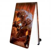 Pad of Perception with Fire Giant Art for Dungeons & Dragons