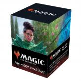 Kianne, Dean of Substance & Imbraham, Dean of Theory, Strixhaven 100+ Deck Box V5 for Magic: The Gathering