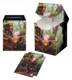 Adventures in the Forgotten Realms 100+ Deck Box V5 featuring Ellywick Tumblestrum for Magic: The Gathering