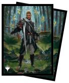 Adventures in the Forgotten Realms 100ct Sleeves V1 featuring Grand Master of Flowers for Magic: The Gathering