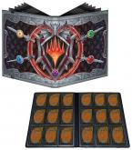Adventures in the Forgotten Realms 9-Pocket PRO-Binder featuring Stylized Planeswalker Symbol for Magic: The Gathering