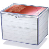 Hinged 150 Card Storage