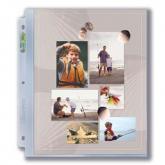 "3-Hole Photo Page for 8 ½"" x 11"" Prints (300ct Bulk)"