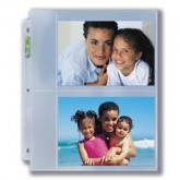 "3-Hole Photo Page for 5"" x 7"" Prints (300ct Bulk)"