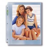 "3-Hole Photo Page for 8"" x 10""Prints (300ct Bulk)"