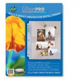 """3-Hole Photo Page 10ct Pack for 8 ½"""" x 11"""" Prints"""