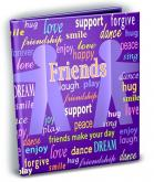 Friends Theme 4x6 Mini Photo Album