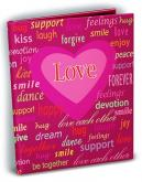 Love Theme 4x6 Mini Photo Album