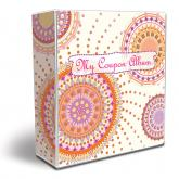 3-Ring Coupon Organizer Binder - SouthWest