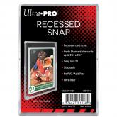Recessed Snap Card Holder