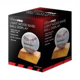 Baseball Light Wood Holder