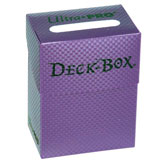 Textured Plenty Purple Deck Box