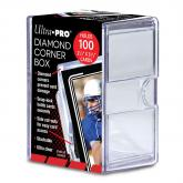 Verzamelingen Verzamelkaarten: sport ULTRA PRO 150 COUNT CLEAR 2-PIECE CARD STORAGE BOX NEW Case Sports Gaming Slider