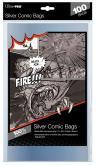 "Silver Size 7-1/4"" X 10-1/2"" Comic Bags"