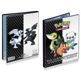Black & White 4-Pocket Portfolio for Pokémon