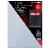 "11"" X 15"" Toploader 10ct"