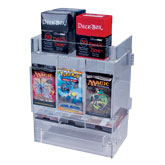 Acrylic Pack Dispenser 3-Slot Stackable with Doors