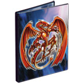 4-Pocket Spiral Dragon Portfolio with Foil by Monte Moore