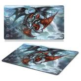 Trinity Dragons Playmat by Monte Moore