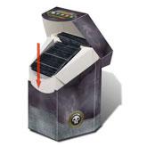 Pro Hex Commander Black Deck Box for Magic