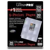 9-Pocket Platinum Page for Standard Size Cards (30-pack)