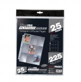 Ultra PRO Platinum Series 9-Pocket Pages (25 count retail pack)