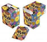 Dia De Los Muertos Yellow Skull Deck Box