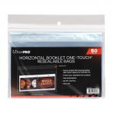 Horizontal Booklet ONE-TOUCH Resealable Bags