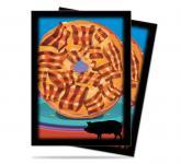 Foodie Bacon Donut Standard Deck Protectors 50ct