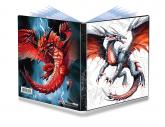 4-Pocket Black & Demon Dragons Portfolio for small sized cards