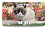 Grumpy Cat Flowers Playmat