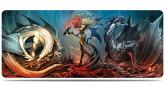6ft Realms of Havoc Highborn Table Playmat by Mauricio Herrera