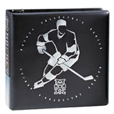 "3"" Top Dog Hockey Black Album"