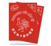 Sriracha Standard Deck Protector sleeves 50ct (Clear Matte)
