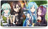 Sword Art Online II: 1st Collection, Bullets & Swords Playmat