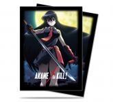 Akame Standard Deck Protectors 65ct for Akame ga Kill!