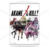 Akame Ga Kill Wall Scroll - Heroines