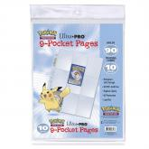 Pokémon 9-Pocket Pages (10 count retail pack)