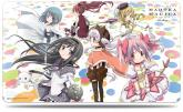 Puella Magi Madoka Magica: Rebellion - Nagisa and the Holy Quintet Playmat
