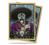 Dia De Los Muertos Mariachi Standard Size Deck Protector Sleeves 50ct
