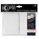 PRO-Matte Eclipse White Standard Deck Protector sleeves 80ct